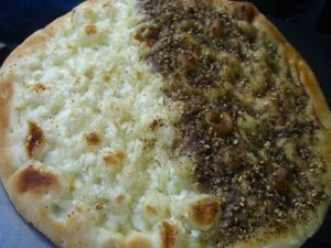 plate_Manakeesh_Zaatar_Cheese